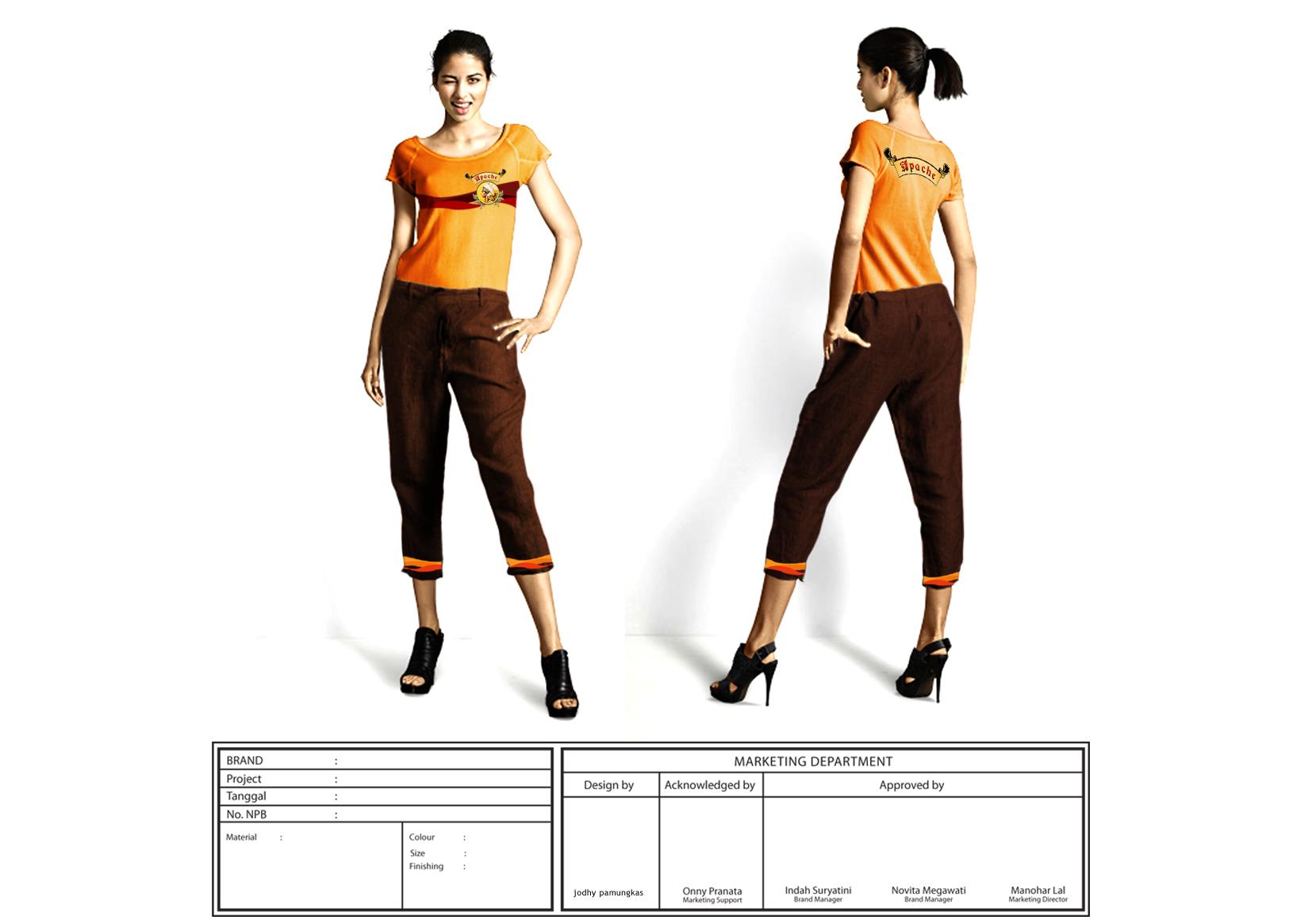 SPEK TEKNIS Pakaian kerja lapangan